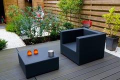 Moderne tuin Stock Foto's
