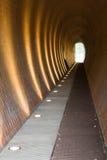 Moderne tunnel Royalty-vrije Stock Afbeeldingen