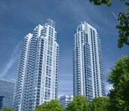 Moderne uitvoerende flats Royalty-vrije Stock Foto