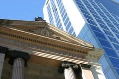 Moderne und alte Architektur Stockfotos