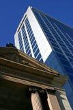 Moderne und alte Architektur Stockfotografie