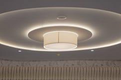 Moderne und futuristische Raum-Beleuchtung Stockbilder
