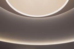 Moderne und futuristische Raum-Beleuchtung Lizenzfreie Stockfotos