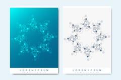 Moderne vectormalplaatjes voor brochure, dekking, banner, vlieger, jaarverslag, pamflet Abstracte kunstsamenstelling met vector illustratie