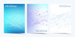 Moderne vectormalplaatjes voor brochure, dekking, banner, vlieger, jaarverslag, pamflet Abstracte kunstsamenstelling met stock illustratie
