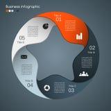 Moderne Vektorschablone für Ihr Geschäftsprojekt Stockfotografie