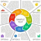 Moderne Vektorschablone für Ihr Geschäftsprojekt Lizenzfreie Stockbilder