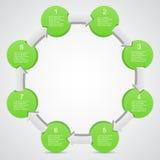 Moderne Vektorschablone für Ihr Geschäftsprojekt Lizenzfreie Stockfotos