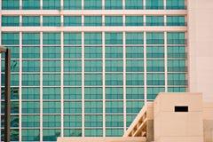 Moderne vensters stock afbeelding