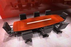 Moderne vergaderingsruimte Stock Fotografie