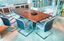 Moderne vergaderzaal, bedrijfsconcept stock foto