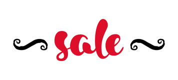 Moderne verkoopbanner Royalty-vrije Stock Afbeelding