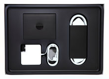Moderne Verpackung der verbrauchbaren Elektronik lizenzfreie stockfotos