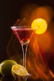 Moderne verse coctail Stock Afbeelding