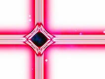Moderne Version des traditionellen christlichen Weihnachtssternes Lizenzfreies Stockbild