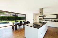 Moderne villa Stock Fotografie