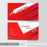 Moderne Visitenkarteschablone Lizenzfreie Stockfotografie