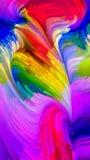 Moderne Vloeibare Kleur royalty-vrije illustratie