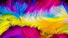 Moderne Vloeibare Kleur vector illustratie