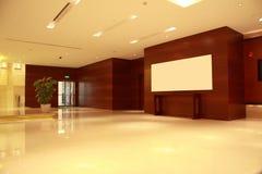 Moderne Vorhalle Lizenzfreies Stockbild