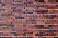 Moderne Wand in der Ziegelsteinmusterart lizenzfreie stockfotografie