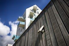 Moderne Wand und Lampe Lizenzfreie Stockfotos