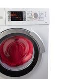 Moderne Waschmaschine Stockfoto