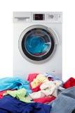 Moderne Waschmaschine Stockfotos