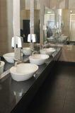 Moderne WC stock fotografie