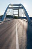 Moderne wegbrug royalty-vrije stock foto