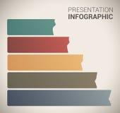 Moderne weiche Farbeauslegung Schablone/infographics Stockbilder