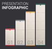 Moderne weiche Farbeauslegung Schablone/infographics Stockfoto