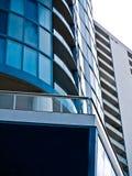 Moderne Welt und Gebäude Stockfotografie