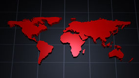 Moderne Weltkarte vektor abbildung