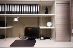 Moderne werkruimte Stock Foto's