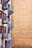 Moderne Wicklungtreppen in Helsinki Lizenzfreies Stockbild