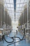 Moderne wijnfabriek Stock Fotografie