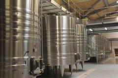 Moderne Wijnmakerij royalty-vrije stock afbeelding