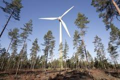 Moderne Windmühle Lizenzfreie Stockfotos