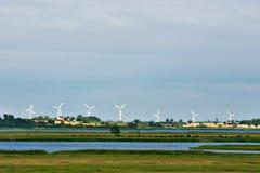 Moderne Windmühlen Lizenzfreies Stockbild