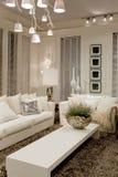 Moderne witte ruimte Royalty-vrije Stock Foto's