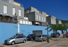 Moderne Wohngebäude Stockfoto
