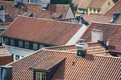 Moderne Wohnsiedlung Stockfotografie