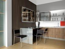 Moderne Wohnung Stockbild