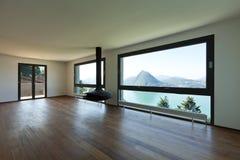 Moderne Wohnung, großes Wohnzimmer Stockfoto