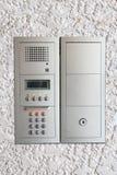 Moderne Wohnung oder Kondominium-Wechselsprechanlage lizenzfreie stockfotos