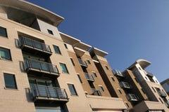 Moderne Wohnungen Stockbild