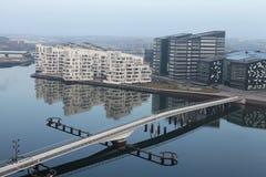 Moderne Wohnungen Lizenzfreies Stockbild