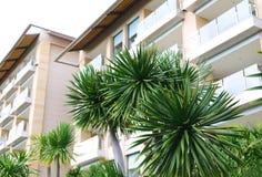 Moderne Wohnungen der modernen Wohnungen Lizenzfreies Stockbild