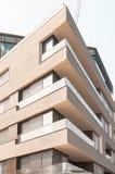 Moderne Wohnungen in der Stadt von London, England Stockfoto